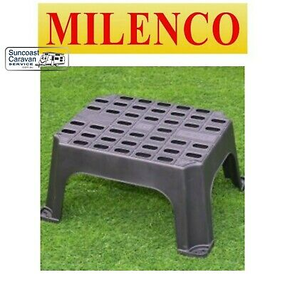 Milenco Single Caravan Portable Motorhome RV Step