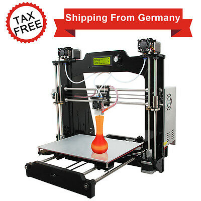 Zollfre Geeetech 3D Drucker PrusaI3 M201 2-in-1-out hotend Mixer Gradient Color