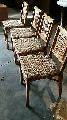 4 Stakmore Mid Century Modern Folding Chairs