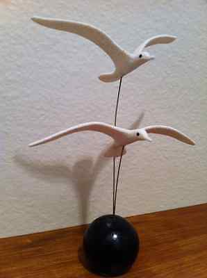 Mid Century Modern Art Seagulls Abstract Art Sculpture Mobiles
