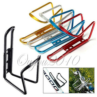 Bike Bicycle Cycling Mountain Sport Water Bottle Aluminum Cage Holder Gift