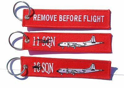 RAAF 10 & 11 Squadron Orion Remove Before Flight Key Ring Value Pack