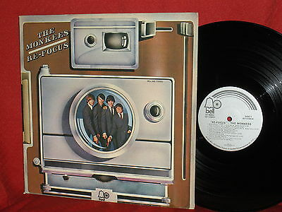 THE MONKEES Re-Focus Bell 1972 LP Record SCARCE SEE