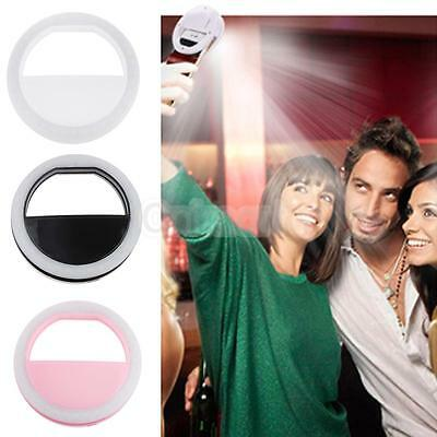 Camara Foto Selfie Aro Luz Led Flash Lamp Para Telefono Movil Iphone Android Ios