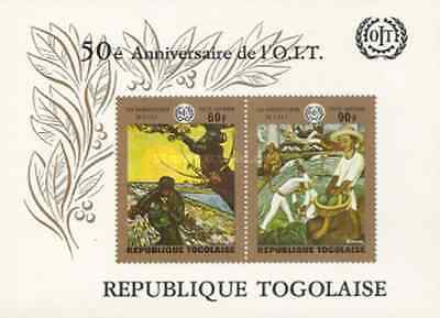 Timbres Arts Tableaux Togo BF42 * lot 16402