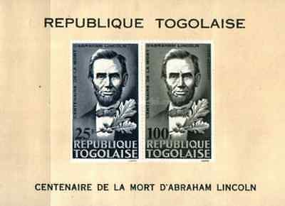 Timbres Personnages Lincoln Togo BF16 * lot 16407