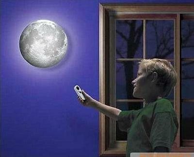 Pop New Amazing LED Moon Night Light Remote Controller Decoration Indoor Wall