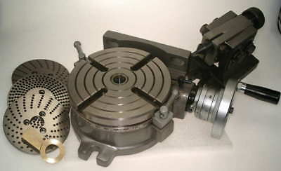 Soba 150Mm Rotary Table With Dividing Plates And Tailstock For Milling Machine