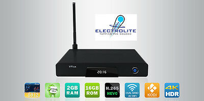 Zoomtak V Plus 2Gb 64bit Octa Core 7.1 Android Box 4k 16Gb - Free Shipping