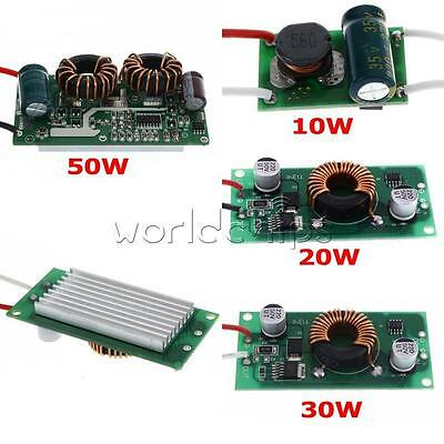 New 10W 20W 30W 50W Constant Current Power Supply LED Driver DC LED Chips Light