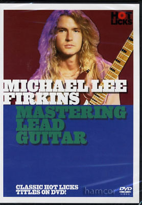Michael Lee Firkins Mastering Lead Guitar DVD