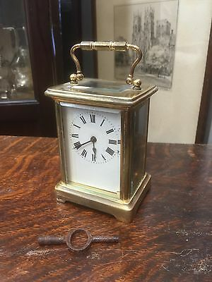 Antique Brass Carriage Clock. Open To Offers.