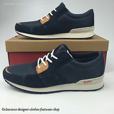 Levis Ny Runner Trainers City Sneakers Mens Casual Daily Walking Shoe Rrp £100