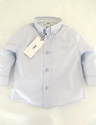 Hugo Boss Sky Blue  Baby Boy Long Sleeve Shirt