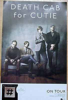 Death Cab For Cutie - CODES and KEYS Double-Sided Promo Poster [2011] - VG++