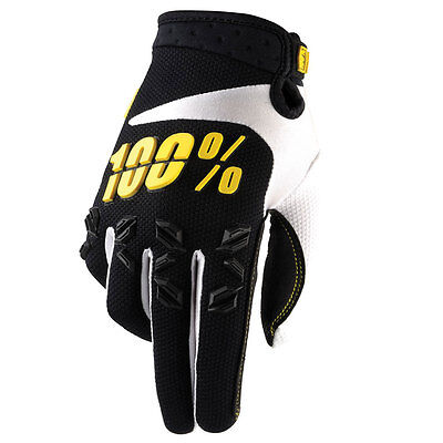 100% Airmatic MX Motocross Gloves - Black