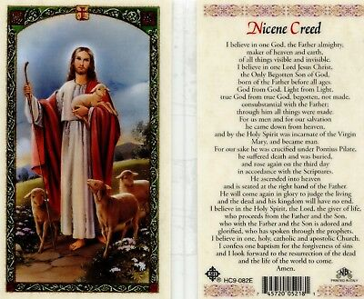 Nicene Creed Prayer Card - BOGO Buy 1 Get 1 or mix and match using Add to Cart