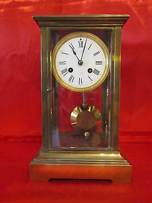 19th century French four glass clock