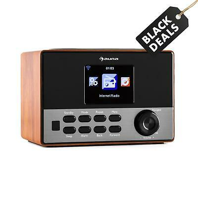Auna Internetradio Lautsprecher Box Wlan Sound Anlage Mp3 Usb Player Braun