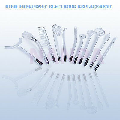 Darsonval High Frequency Electrode Replacement Violet / Orange Light Glass Tube