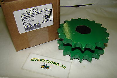 Replacement Round Baler Double Sprocket for John Deere #AE39301 17/17 Tooth