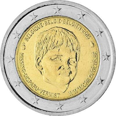 2 Euro Gedenkmünze Belgien 2016 bfr. - Child Focus