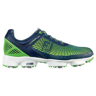 New Mens FootJoy Hyperflex Closeout Golf Shoes 51007 Navy Green- Any Size!