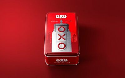 Collectors Limited Edition Retro Oxo Tin With 18 Oxo Cubes