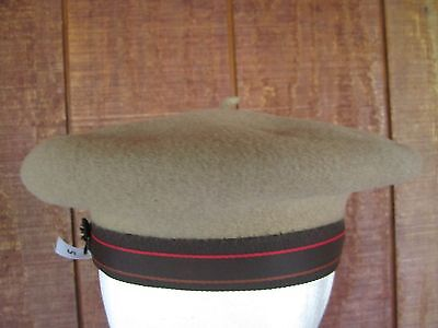 70ba742b Vintage KANGOL Brown Beige 100% Wool BERET Style HAT Size SMALL Adult
