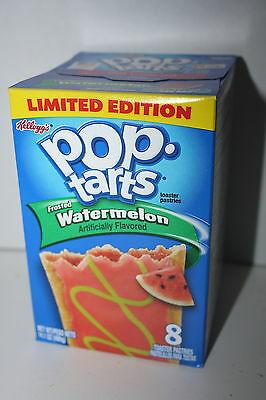 USA Kellogg's Pop Tarts Frosted WATERMELON (8 toaster pastries)