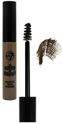 W7 Queen Of The Brows Eyebrow Mascara - Brown
