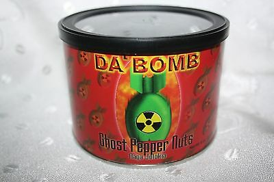 DA BOMB Ghost Pepper Nuts Naga Jolokia 227g box