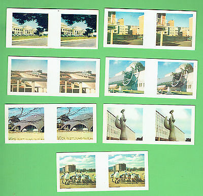 #d262.  Seven 1963  Sanitarium True-To-Life Stereo Canberra The Capital  Cards