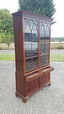 Early 20Th Century Rosewood Bookcase