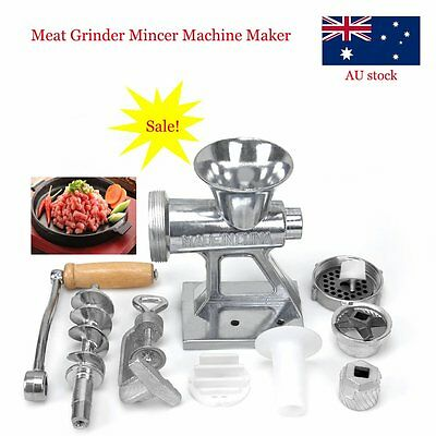 Premium Mincer Filler Burger Meat And Sausage Maker Nozzle Set Machine
