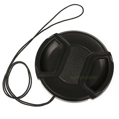 Nikon New 67mm 67 mm Pinch Snap On Front Lens Cap For Canon LC-67 wd