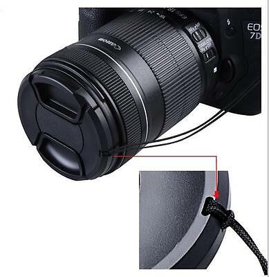 72mm Camera Front Lens Snap-on Pinch Cap Cover for Nikon Olympus Canon Fujufilm