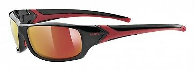 Uvex Sportstyle 211 Sportbrille - black red