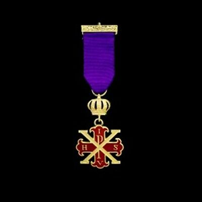 Red Cross of Constantine MWS Breast Jewel (Free Delivery)