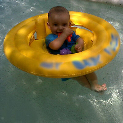 Inflatable Baby Infant Seat Aid Swimming Pool Float Tube Ring Swim Trainer