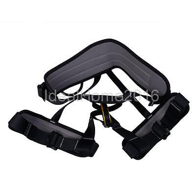 Safety Harness Seat Belt For Mountaineering Rock Climbing Carving Rappelling