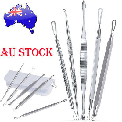 Blackhead Black Blemish Remover Acne Comedone Pimple Extractor Removal Tool Kit