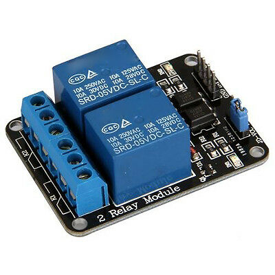 5V 2-Channel Relay Module Shield for Arduino ARM PIC AVR DSP Electronic 2016 CF1