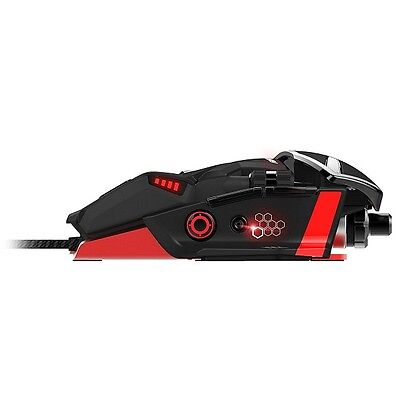 Mad Catz R.A.T 6 USB Laser 8200DPI RATON CON CABLE USB LASER JUEGO GAMING MOUSE