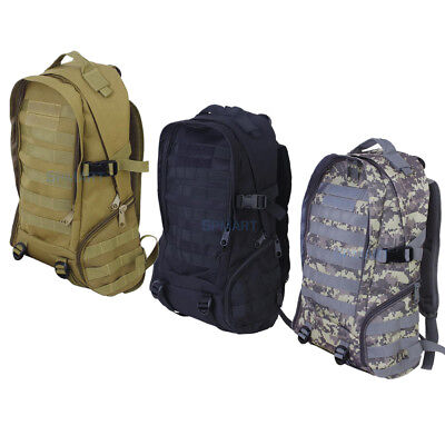 OUTDOOR TRAVEL SPORTS Molle Tactical Rucksack Backpack Hiking Trekking Bag 35L