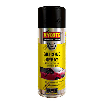 x1 Hycote® 400ml Silicone Maintenance Lubricant Aerosol Spray Penetrate Protect