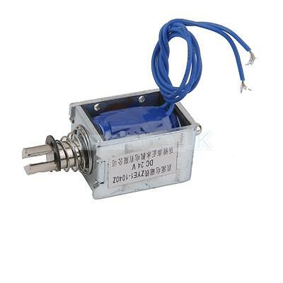 24V DC 7N Pull Open Frame Solenoid Electromagnet Reliable Accessories