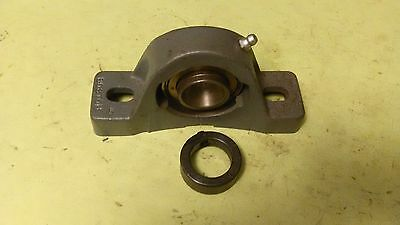 "Boston Gear (ALTRA) Pillow Block ball bearing 1"" ID Cast Iron Fixed Bearing"