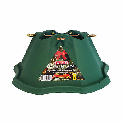 Bosmere G472 - L Christmas Tree Stand for 8ft Trees, Heavy Duty, Water Reservoir