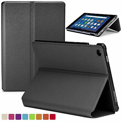 Forefront Cases® Smart Shell Case Cover Wallet for Amazon Fire HD 8 2016